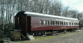 Dining Car in the beginning